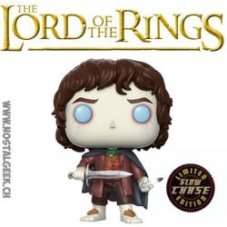 Funko Pop! Le Seigneur des Anneaux Frodo Baggins (Frodon Sacquet) Chase Phosphorescent
