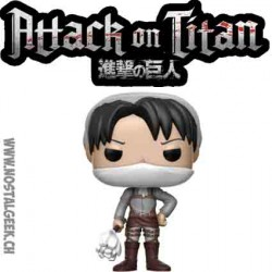 Funko Pop Anime Attack on Titan Cleaning Levi Edition Limitée