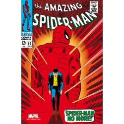Marvel Steel Cover - Amazing Spider-Man 50 - Giant Size