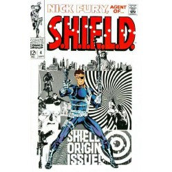 Marvel Steel Cover - Nick Fury 4 - Giant Size