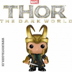 Funko Pop Marvel Thor 2 Loki avec Casque