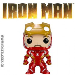 Funko Pop Marvel Iron Man Unmasked Edition Limitée