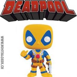 Funko Pop Marvel Deadpool Costume Jaune Edition Limitée