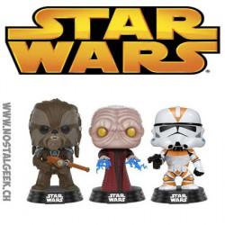 Funko Pop Star Wars Tarfful, Unhooded Emperor,Utapau Clone Edition Limitée