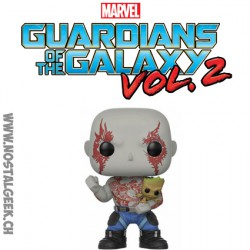 Funko Pop Guardians of the Galaxy 2 Drax avec Groot Edition limitée
