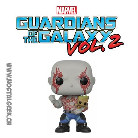 Funko Pop Guardians of the Galaxy 2 Drax avec Groot Edition limitée