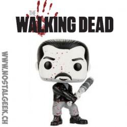 Funko Pop! TV The Walking Dead Bloody Black & WhiteNegan Edition Limitée