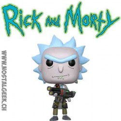 Funko Pop Rick et Morty Weaponized Rick Vinyl Figure