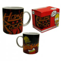 "The Simpsons- ""Homer Rocks"" Mug"