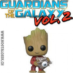 Funko Pop Guardians of the Galaxy 2 Groot with with Cyber Eye Edition Limitée