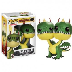 Funko POP! How to Train Your Dragon 2 Movie Vinyl Action Figure BELCH & BARF