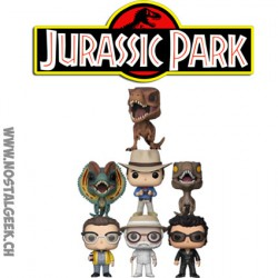 Funko Pop Movies Jurassic Park Funko Pop Movies Jurassic Park Bundle of 7 Vinyl Figures