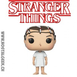 Funko Pop NYCC 2017 Stranger Things Eleven With Electrodes Limited Vinyl Figure Damaged Box