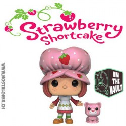 Funko Pop! Vinyl Pop! Animation Strawberry Shortcake & Custard (Scented)