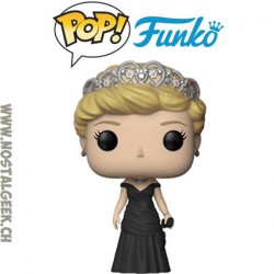 Funko Pop Royals Diana Princess of Wales (Black Dress) Vinyl Figure
