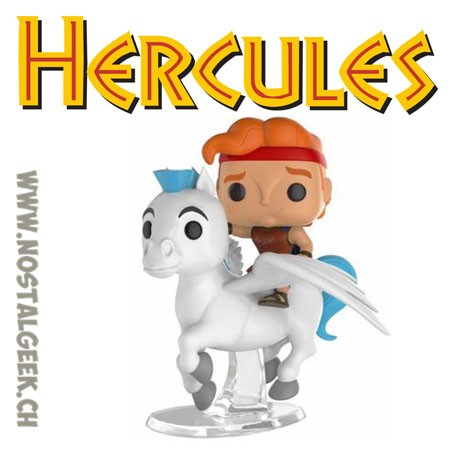 Funko Pop Rides Disney Hercules Pegasus and Hercules Vinyl Figure