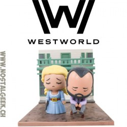 WestWorld Dolores & Arnold SuperEmoFriends Diorama
