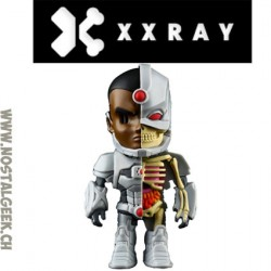 XXRAY DC Comics Cyborg Dissected Vynil Art Figure