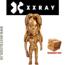 XXRAY DC Comics Wonder Woman Gold Dissected Limited Vynil Art Figure