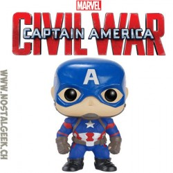 Funko Pop Marvel Captain America Civil War