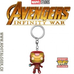 Funko Pop Pocket Keychain Avengers Infinity War Iron Man Vinyl Figure