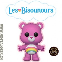 Funko Pop Animation Care Bear (Bisounours) Cheer Bear (Grosfarceur) Chase GITD Edition Limitée