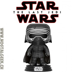 Funko Pop Star Wars Last Jedi Kylo Ren Hoodless Edition Limitée
