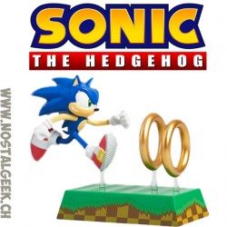 Sega Sonic The Hedgehog and Rings Figure