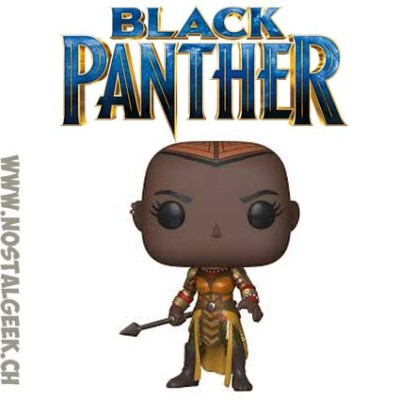 Funko Pop Marvel Black Panther Okoye Edition Limitée