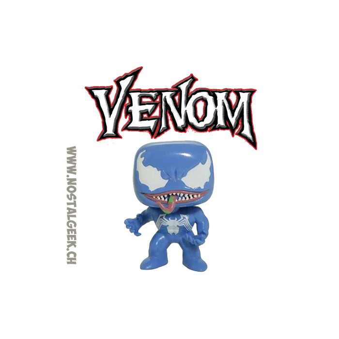 4a934cab75e Toy Funko Pop! Marvel Venom (Blue) Exclusive Vinyl Figure geek suis...