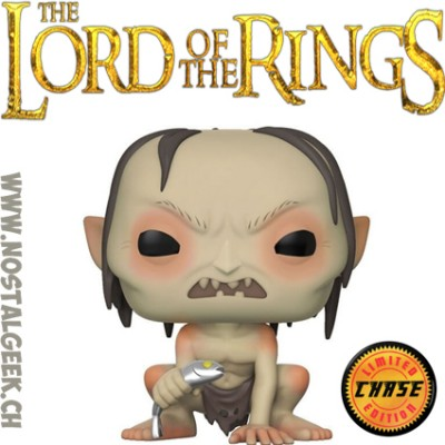 Funko Pop Lord of the Rings Gollum Chase Edition Limitée