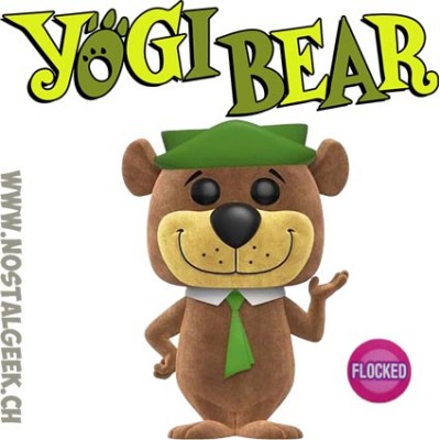 Funko Pop Animation Yogi Bear Flocked Exclusive Vinyl Figure
