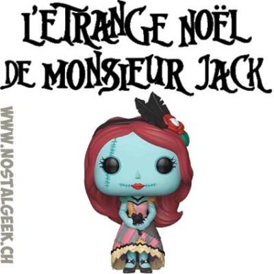 Pop Disney L'Étrange Noël de Monsieur Jack - Sally seated GITD With Flocked Cat Edition Limitée