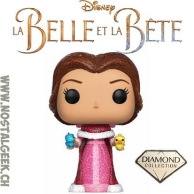 Funko Pop Disney Beauty and The Beast Glitter Belle with Birds Exclusive Vinyl Figure