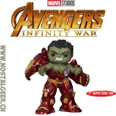 Funko Pop 15 cm Marvel Avengers Infinity War Hulk Busting out of Hulkbuster Edition Limitée
