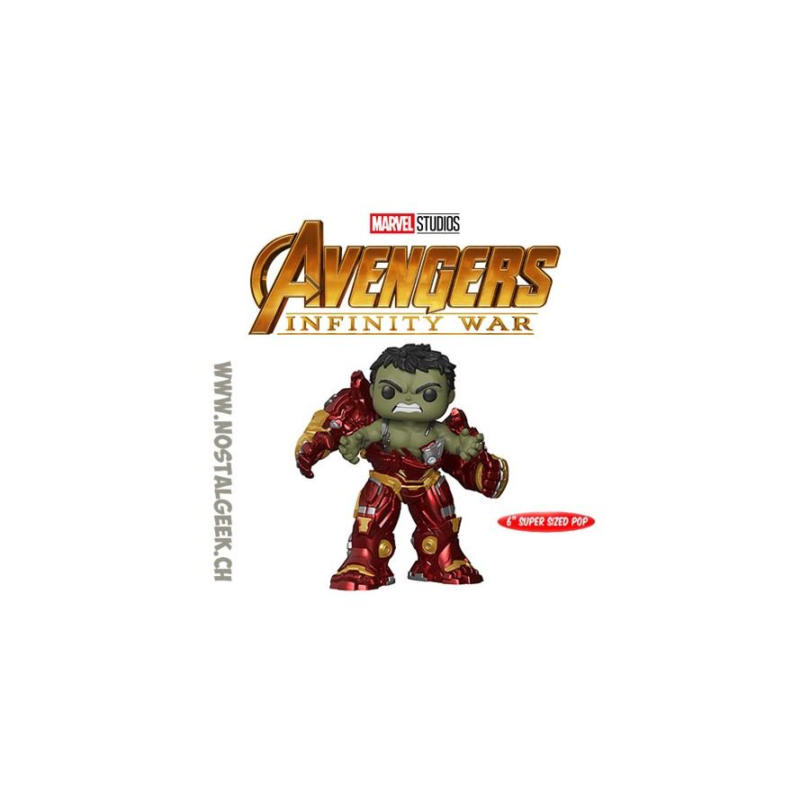 Funko Pop Vinyl Avengers Hulk Busting Out Of Hulkbuster Exclusive New