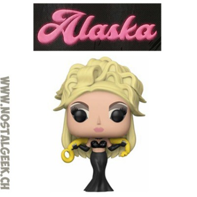 Funko Pop TV Drag Queens Alaska in Sparkle Dress Edition Limitée
