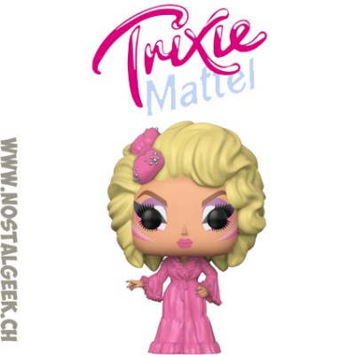 Funko Pop TV Drag Queens Trixie Mattel Exclusive Vinyl Figure