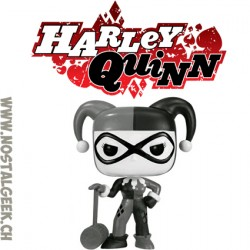 Funko Pop DC Harley Quinn with Mallet (Black & White) Exclusive Vinyl Figure