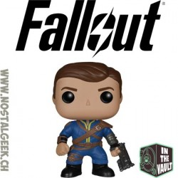 Funko Pop Games Fallout Lone Wanderer (Male) Vaulted Vinyl Figure