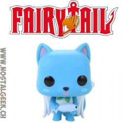 Funko Pop! Anime Fairy Tail Happy Flocked Limited Edition