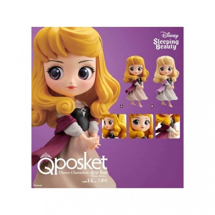 Toy Disney Characters Q Posket Beauty and the Beast - Princess Auro