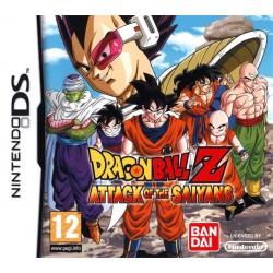 Nintendo DS Dragon Ball Z Attack of the Saiyans
