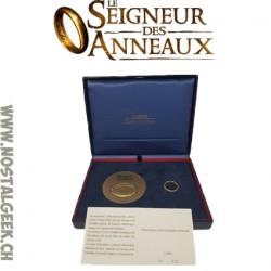 Le Seigneur des Anneaux Coffret Monnaie de Paris 2004 Limité à 500 exemplaires.