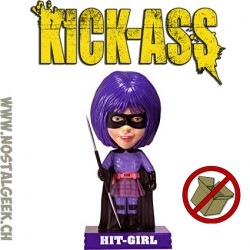 Funko Wacky Wobbler Kick Ass - Hit Girl Bobble Head Vinyl Figure