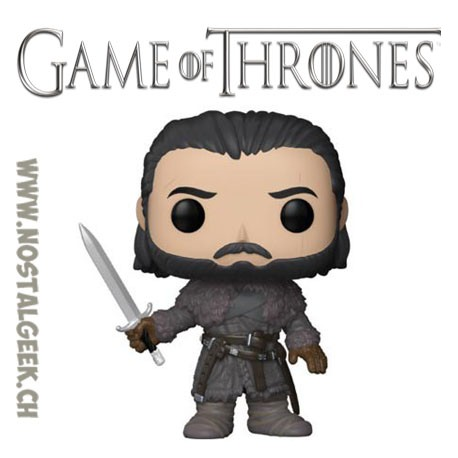 Funko Pop! TV Game of Thrones Beyond The Wall Jon Snow Vinyle Figure