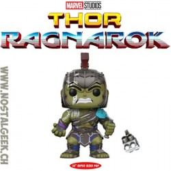 Funko Pop 25 cm Marvel Thor Ragnarok Hulk Gladiator Super Sized Edition Limitée
