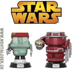 Funko Pop Star Wars Fighting Droids 2 Pack Edition Limitée