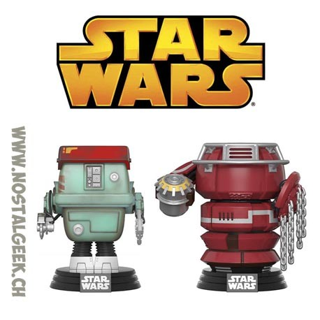 Funko Pop Star Wars Fighting Droids 2 Pack Exclusive Vinyl Figure