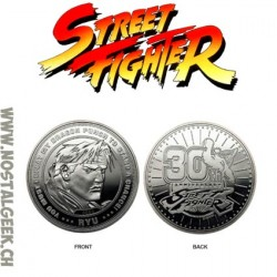 Street Fighter: Silver Edition Limited Edition Collectible Coin